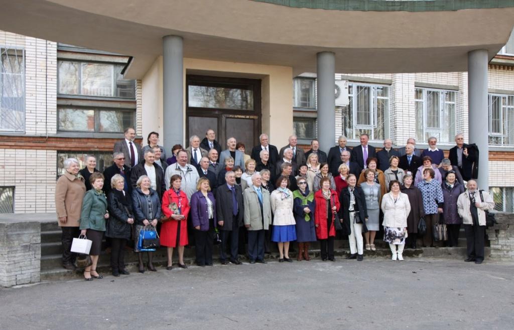 В Инженерно-строительном институте СПбГПУ состоялась встреча выпускников 1974 года