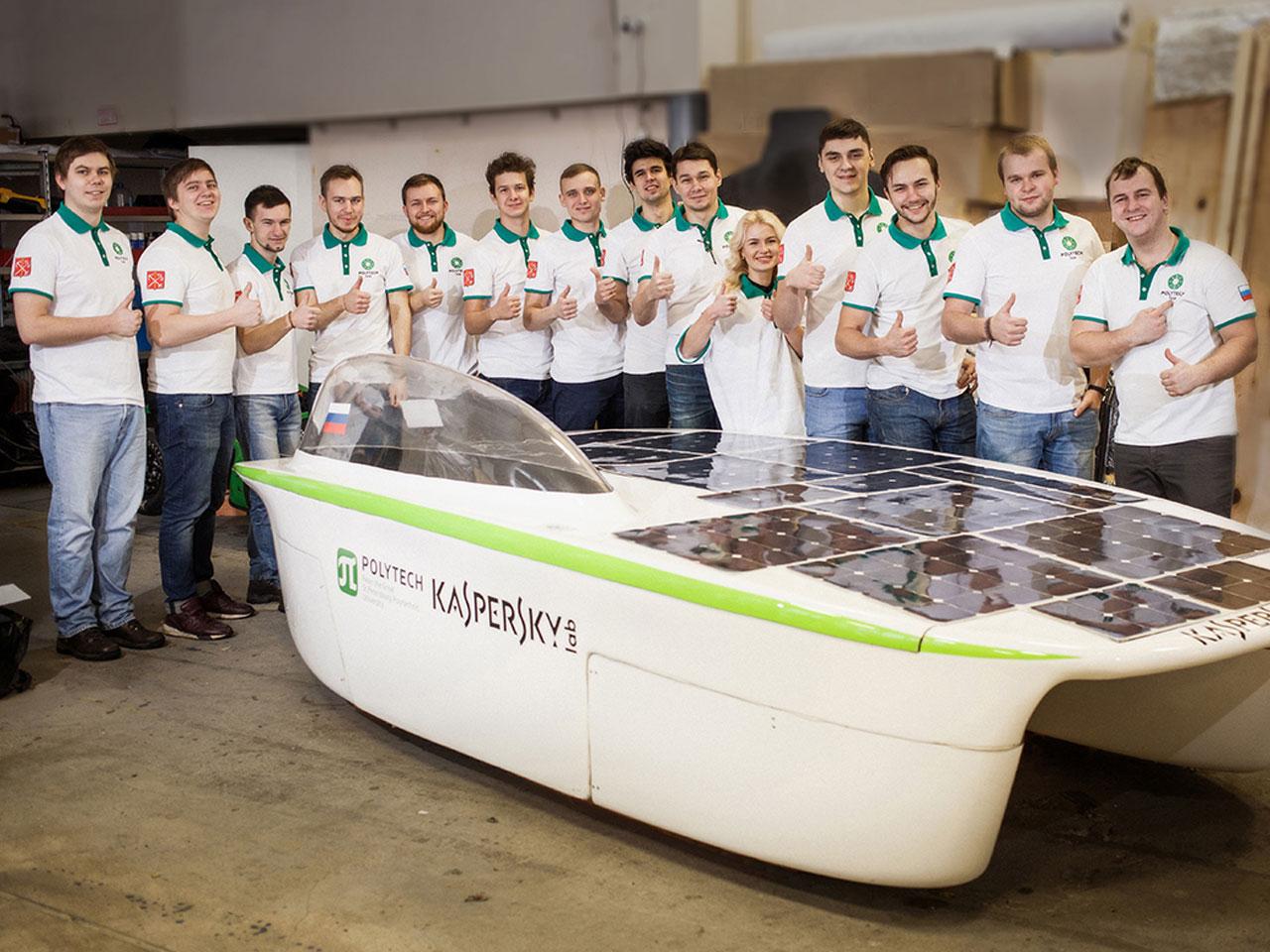 «Первый российский солнцемобиль»
